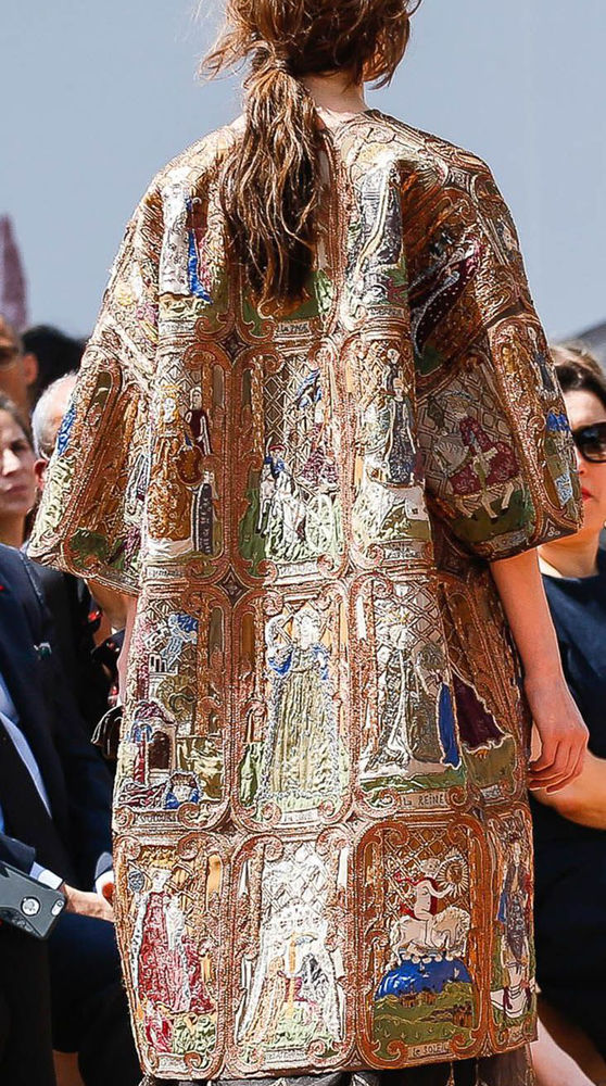 Coat from Christian Dior Tarot Collection